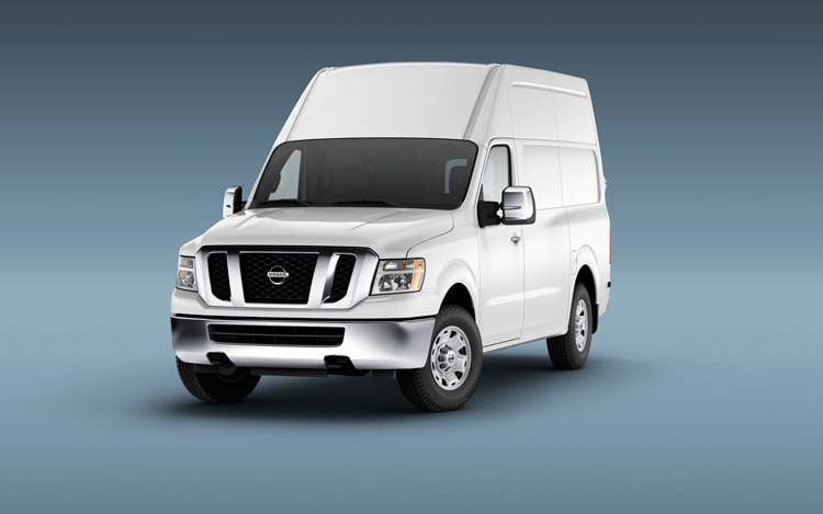 1003 01 Z 2011 Nissan NV Front Three Quarter View