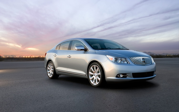 1003 02 Z 2010 Buick LaCrosse I 4 Front Three Quarter View