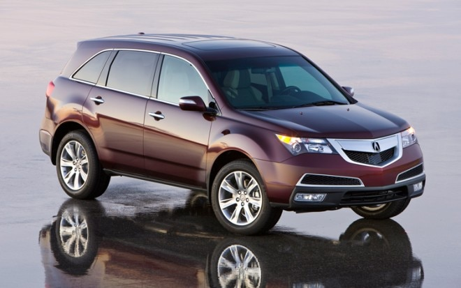 1003 03 Z 2010 Acura MDX Front Three Quarter View 660x413