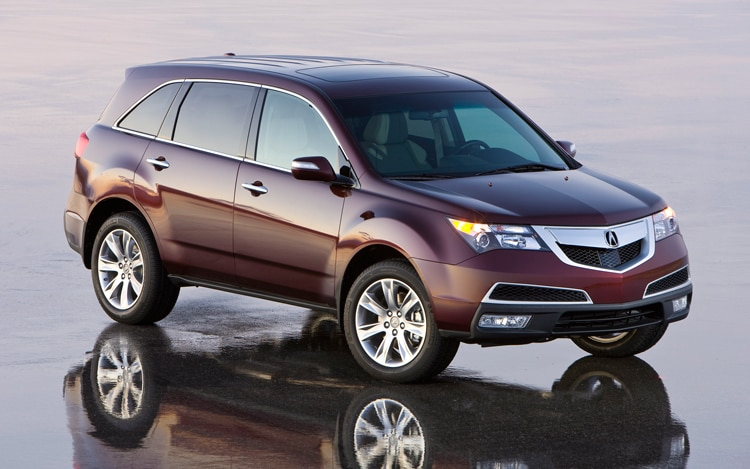 1003 03 Z 2010 Acura MDX Front Three Quarter View