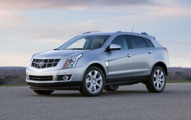 1003 03 Z 2010 Cadillac SRX Turbo AWD Premium Front Three Quarter View 660x413