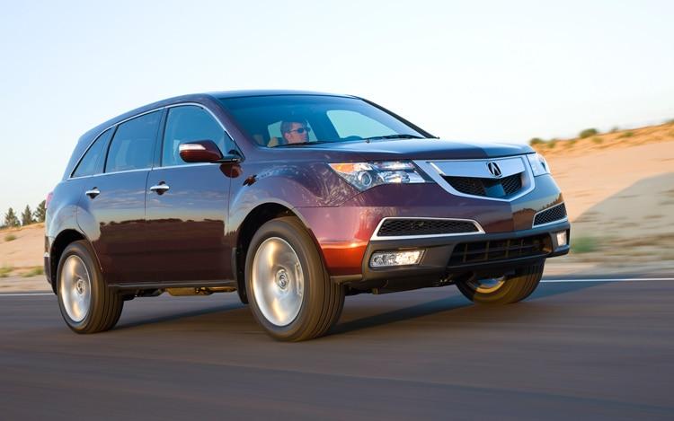 2010 Acura Mdx Acura Luxury Crossover Suv Review