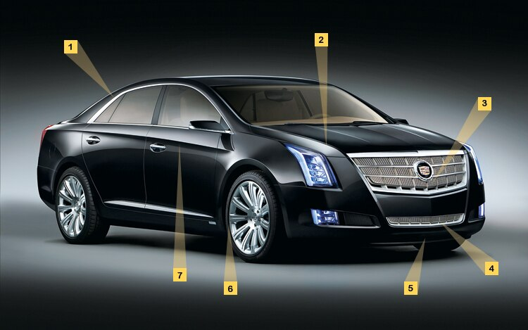 1004 01 Z Cadillac XTS Platinum Concept Front Details