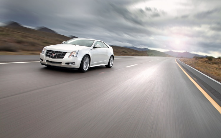1004 04 Z 2011 Cadillac CTS Coupe Front Three Quarter View