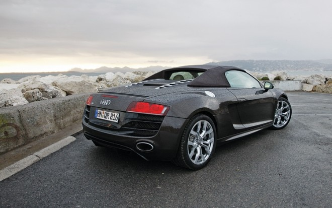 1006 01 2011 Audi R8 Spyder 5 2 Rear Three Quarter View 660x413