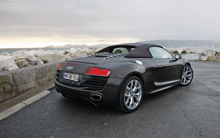 1006 01 2011 Audi R8 Spyder 5 2 Rear Three Quarter View