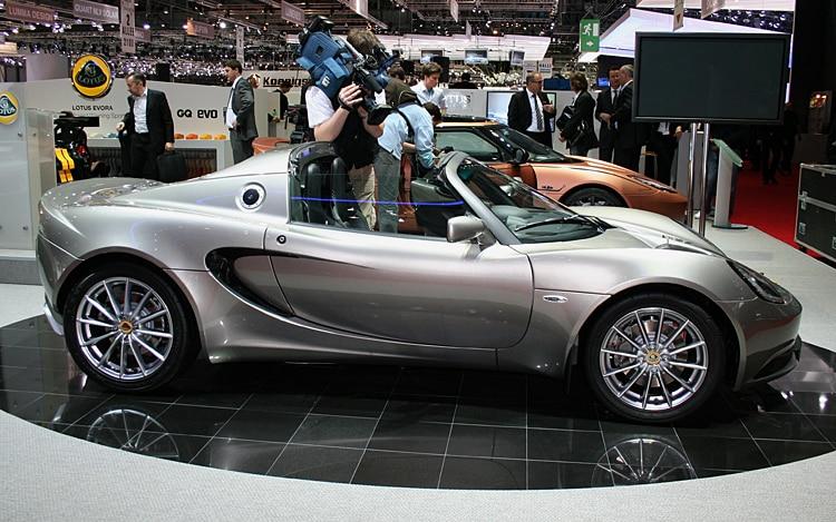 2011 lotus elise 2010 geneva auto show coverage new car reviews concept cars automobile. Black Bedroom Furniture Sets. Home Design Ideas