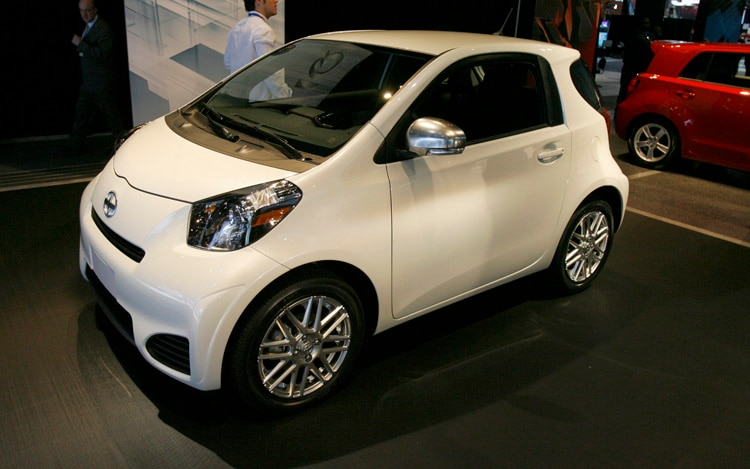 2011 Scion IQ Stock Front Three Quarter View1