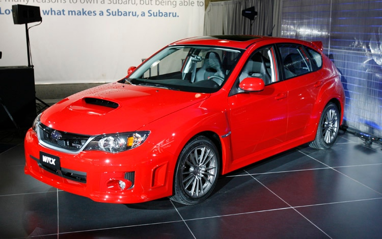 2011 Subaru Impreza WRX Hatchback Front Three Quarter