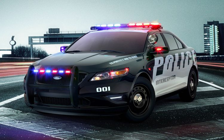 2012 Ford Police Interceptor Front1