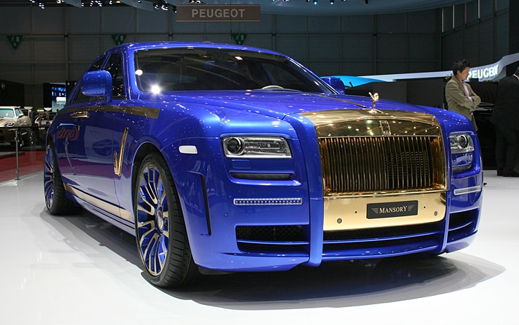 Mansory Rolls Royce Ghost Front Three Quarters Passenger