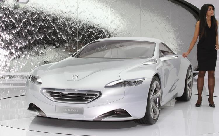 Peugeot SR1 Concept Front