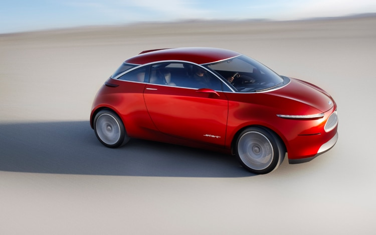 1004 03 2010 Ford Start Concept Front Three Quarter View