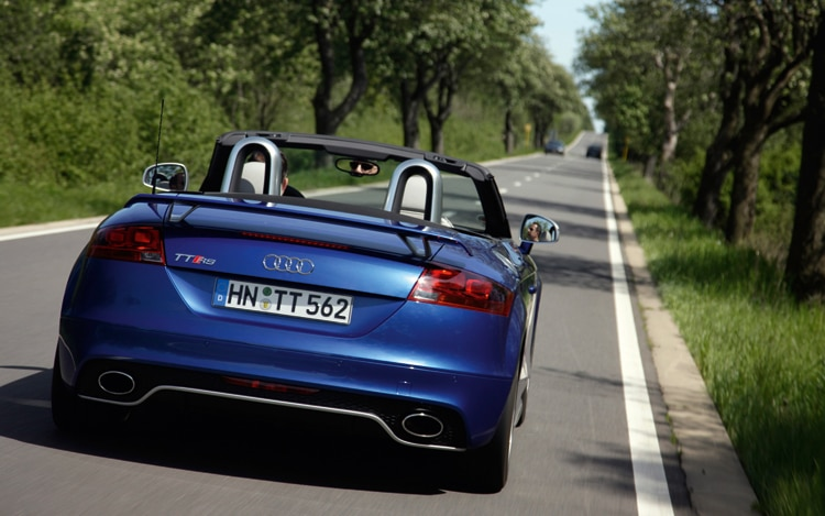 1004 05 2012 Audi TT RS Rear View