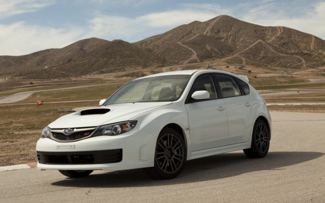 1004 08 2010 Subaru Impreza WRX STI Special Edition Front Three Quarter View 660x413