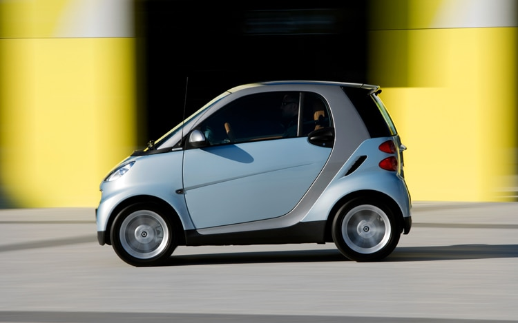 1004 Z 01 Smart ForTwo Side View
