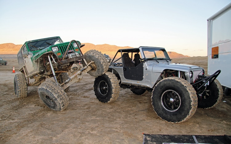 1005 Z 01 2010 King Of The Hammers Race Modifed Jeeps