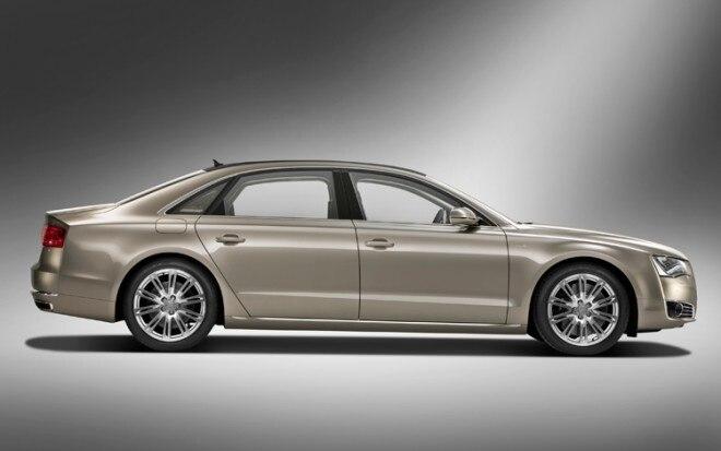 2011 Audi A8 L W12 Side View Static Passenger1 660x413