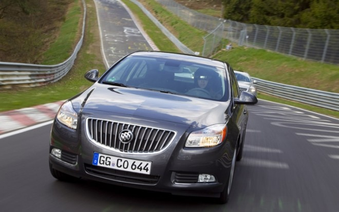 2011 Buick Regal On Nurburgring Front1 660x413