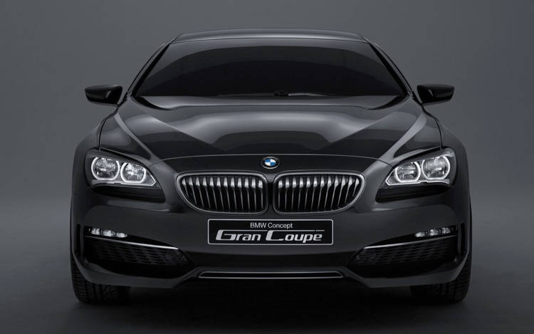 BMW Concept Gran Coupe Front