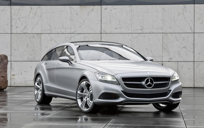 Mercedes Benz Shooting Break Concept Front2 660x413