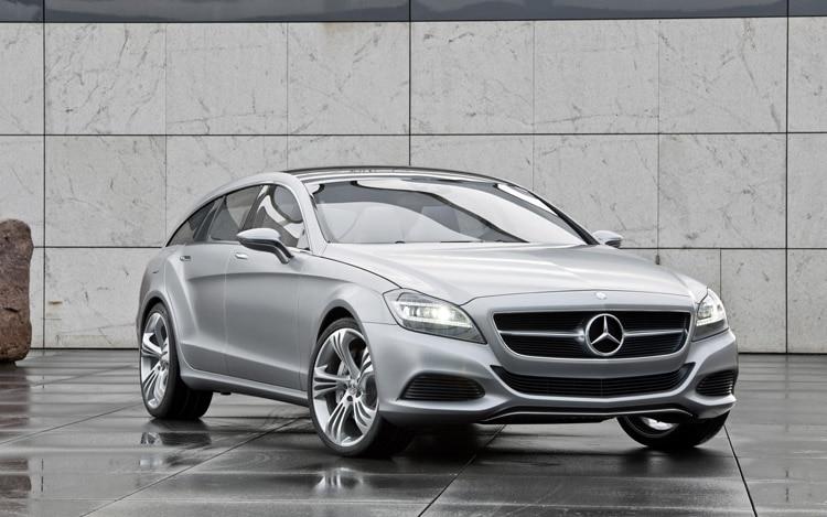 Mercedes Benz Shooting Break Concept Front2