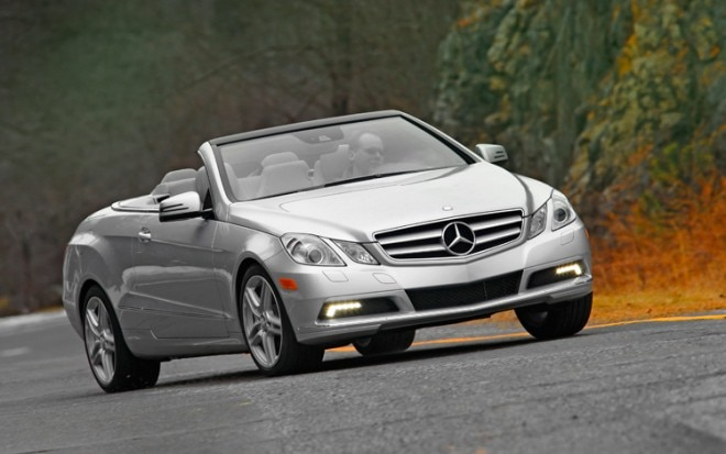 1002 05 Z 2011 Mercedes Benz E350 Cabriolet Front Three Quarter View 660x413
