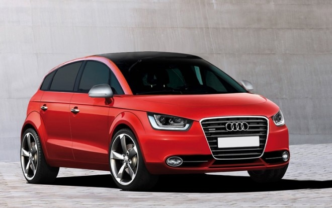 1005 05 2013 Audi A2 Illustration Front Three Quarter View 660x413