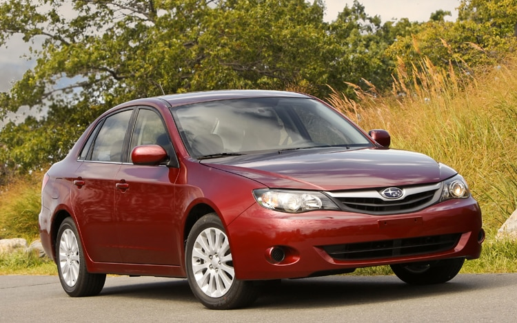 1005 06 2010 Subaru Impreza 2 5i Premium Front Three Quarter View