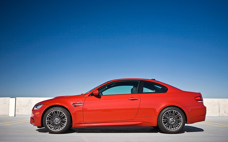 1005 11 2010 BMW M3 Coupe Side