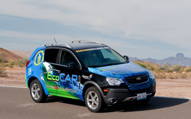 extended range diesel hybrid suv wins gm 39 s ecocar competition. Black Bedroom Furniture Sets. Home Design Ideas