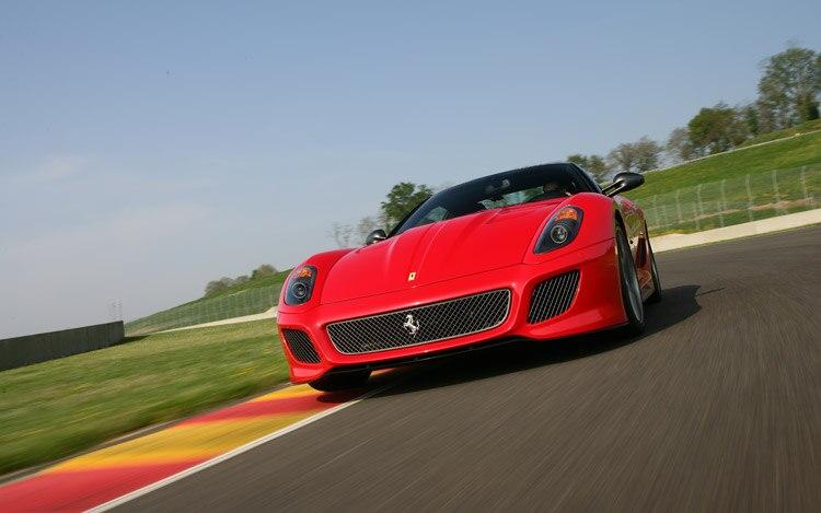 Ferrari 599 GTO Front View 4