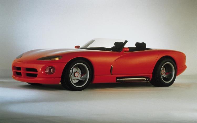 1006 01 1989 Dodge Viper Concept Front Three Quarter View