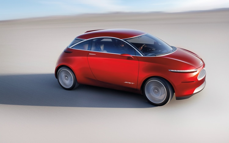 1007 02 2010 Ford Start Concept Front Three Quarter View