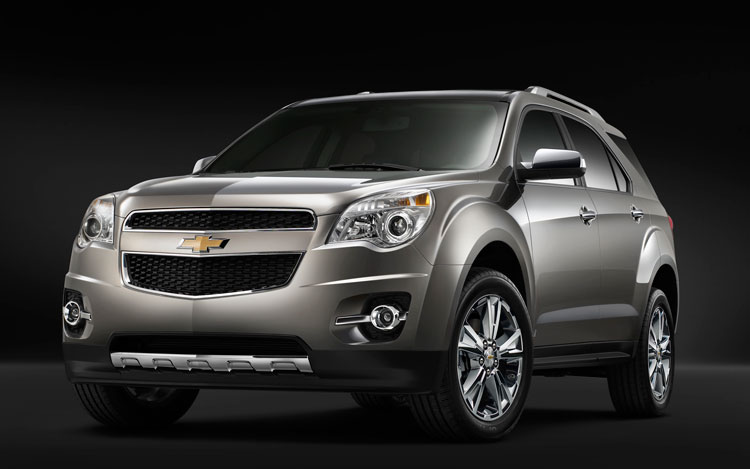 163 0904 02z 2010 Chevrolet Equinox Front View