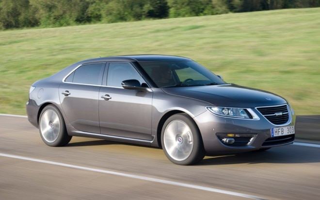 2010 2011 Saab 9 5 Front In Motion1 660x413