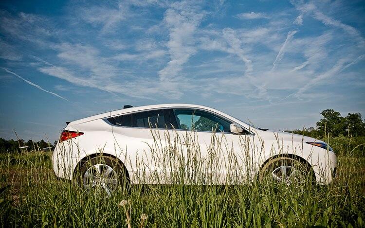 2010 Acura ZDX Side