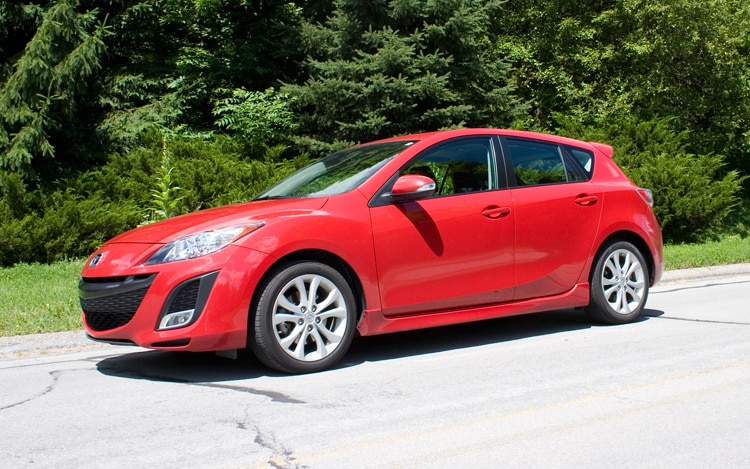 2010 Mazda3 S Sport Front Three Quarter1