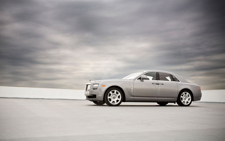 2010 Rolls Royce Ghost Driver Three Quarter3