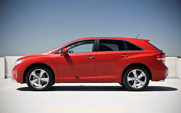 2010 Toyota Venza Awd Sideview