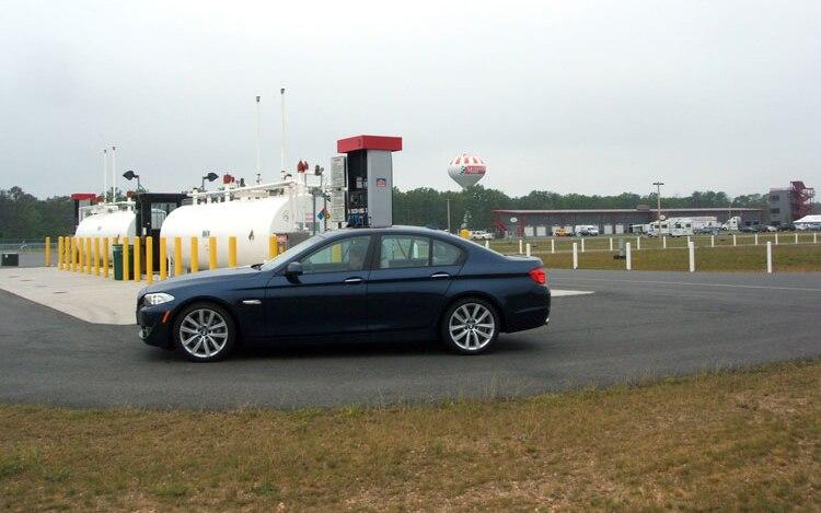 2011 BMW 535i Side View