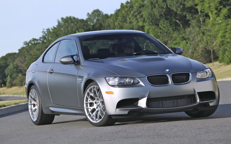 2011 BMW M3 Frozen Grey Front Three Quarters1