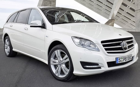 2011 Mercedes Benz R Class Front Three Quarter Promo