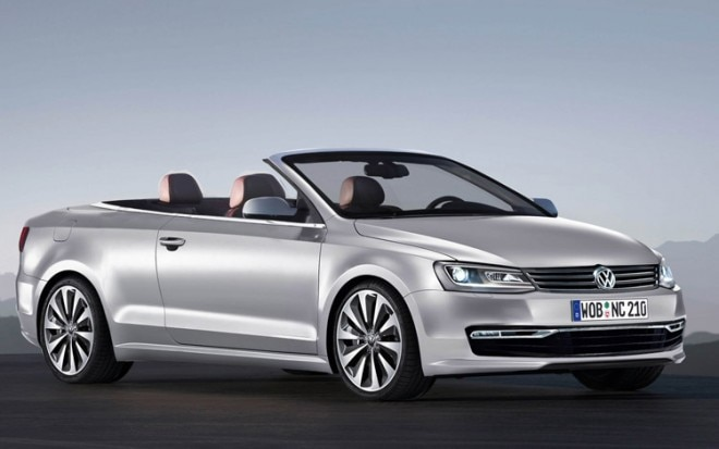 2015 Volkswagen Passat Cabriolet Front Three Quarter Illustration 660x413
