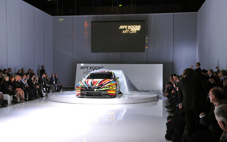 Jeff Koons BMW M3 GT2 Art Car Unveiling 2