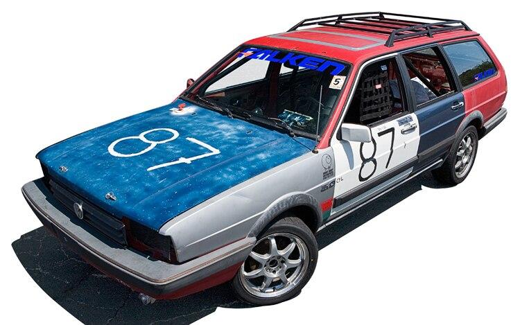 1987 Volkswagen Quantum Illustration