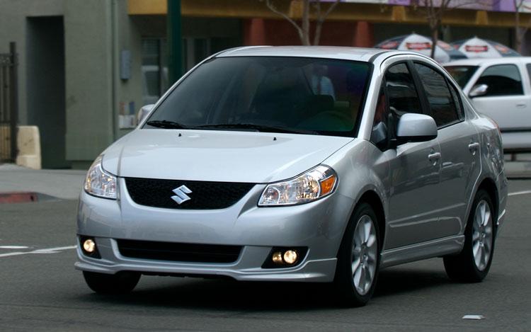 2009 Suzuki SX4 Sport Front Three Quarter