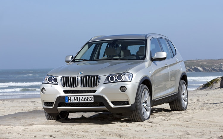 2011 BMW X3 Front1