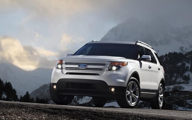 2011 Ford Explorer Front1