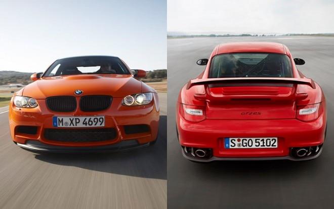 BMW M3 GTS Porsche 911 GT2 RS 660x413